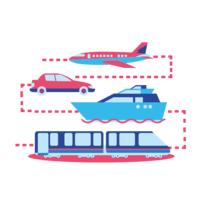Planes, Cars, Ships, Trains